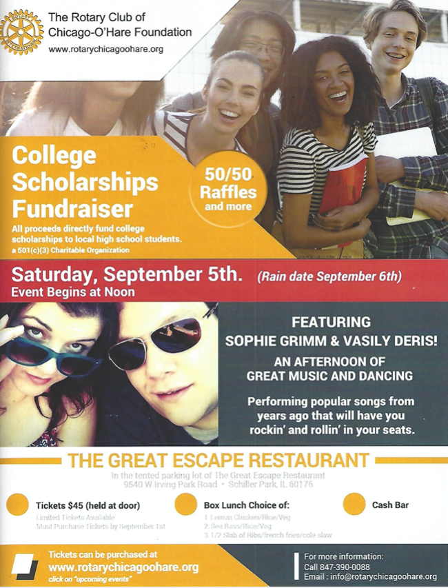 Fundraising Event At The Great Escape in Schiller Park